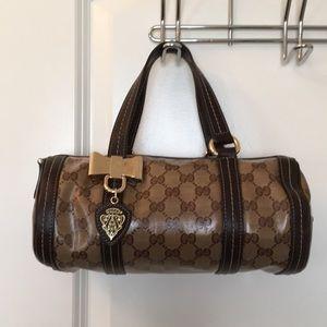Gucci Crystal Duchessa Small Boston Bag